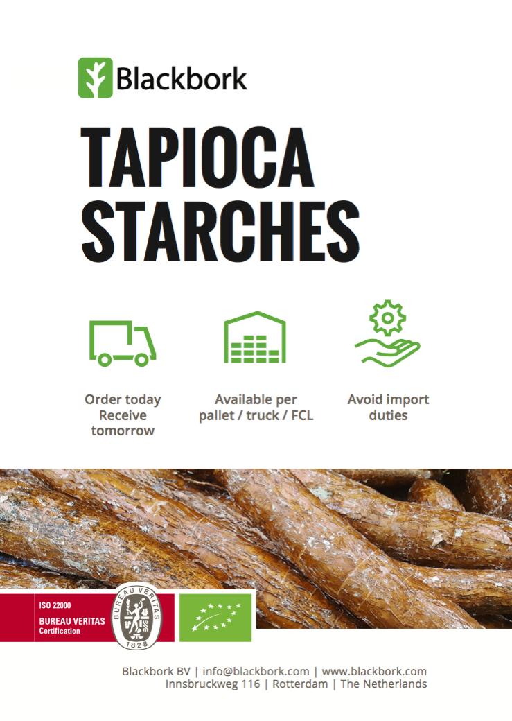 modified starches b v